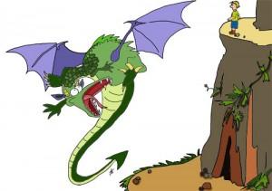 Dragon meets boy – part 2