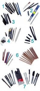 Read more about the article Pens and Drawing materials