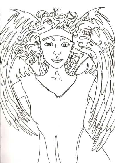 tarot illustration by Annette Abolins