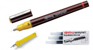 Read more about the article rOtring Rapidograph Pens