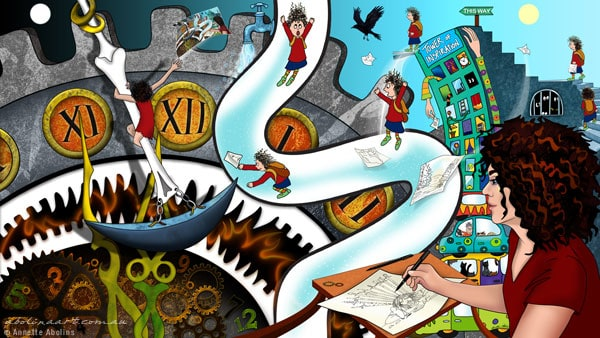 My Artistic Journey - Annette Abolins - Deviant Art contest 2014