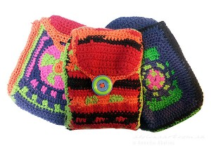 Colourful Holiday Season and Crocheting