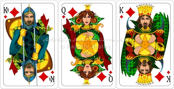 preview illustrated playing cards