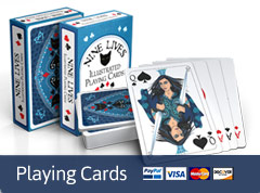 Nine Lives bridge cards