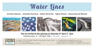 Read more about the article Upcoming Exhibition in Newcastle 1st-24th April