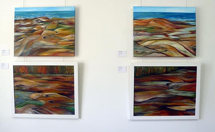 Paintings by Signe Eklund