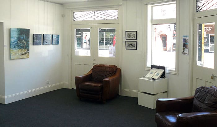 Gallery view of Water Lines exhibition