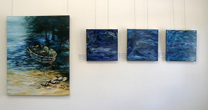 Works by Helen Mortimer and Diane Eklund-Āboliņš