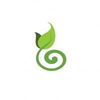 simply green gardens logo symbol - Abolina Art
