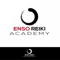 Enso symbol incorporated in logo concept - Annette Abolins