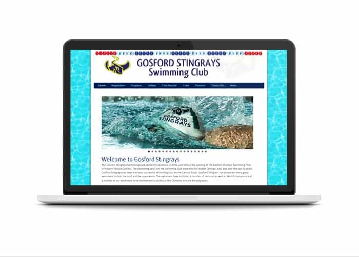 Gosford Stingrays Swimming Club - Abolina Art