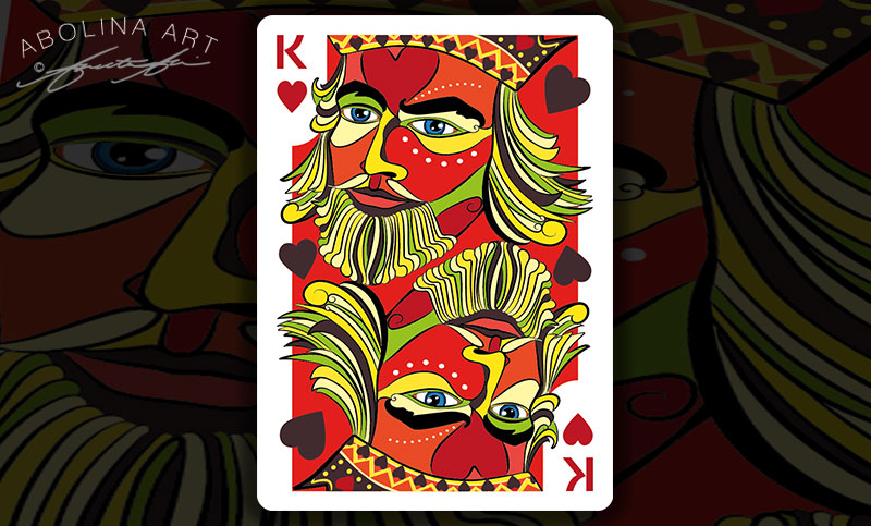 King of Hearts - Preview in colour - version 2