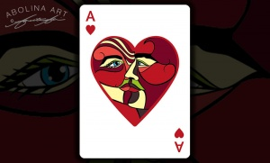 Revised Court cards & Ace of Hearts