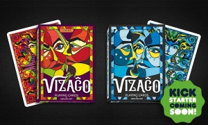 VIZAĜO Playing Cards – Launching soon on Kickstarter