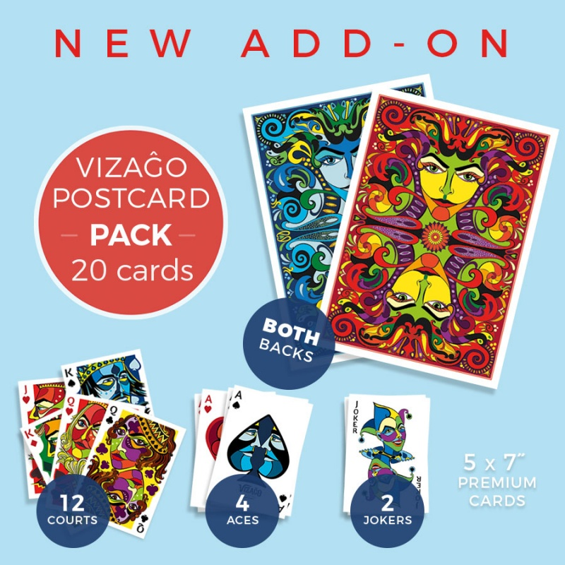Add-on - VIZAĜO Postcard Pack