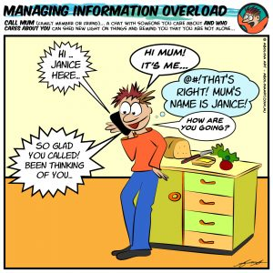 COVID-19 Cartoons – Managing Information Overload