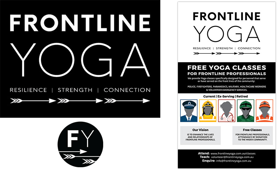 FY logo and flyer design by Abolina Art